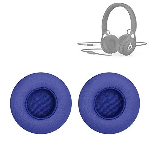XUAILI koptelefoon vervanging oorkussens voor Beats EP Bedraad Headset oordopje Sponge oordopjes 2 PCS, Blauw