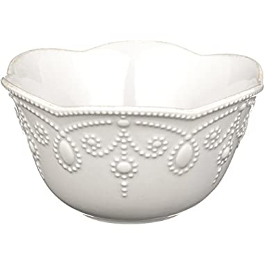 Lenox French Perle Fruit Bowl, White