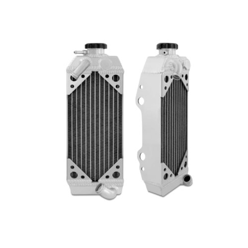 Mishimoto MMDB-DRZ400-00RX Dirt Bike Aluminum Radiator Compatible With Suzuki DRZ400S 2000-2013