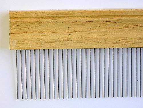 Karin - 50cm/5mm Ebru Kamm, Ebru Taragi, Marbling Comb, Marmorier Kamm, peigne persillage, marmorizzazione pettine