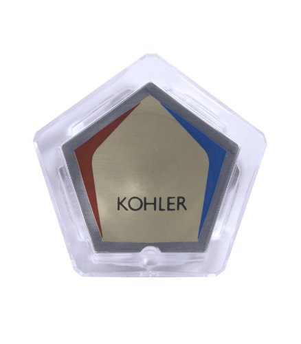 Kohler GP42361 Plug Button with Centura, One Size, CLEAR