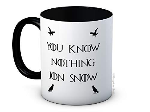 You Know Nothing Jon Snow - Game of Thrones - Taza De Café De Cerámica