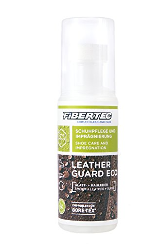 Fibertec Leather Guard Eco Schuhpflege, transparent, 100 ml