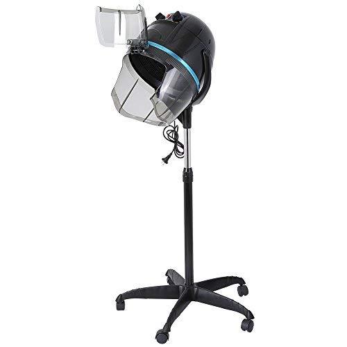 1000W 220V casco secador de pie Temperatura ajustable con contador herramienta peluquería profesional permanente para salón de peluquería