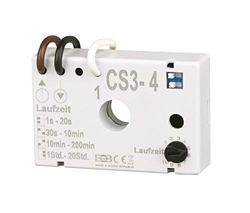 Elektrobock CS3-4 Nachlaufrelais Unterputz