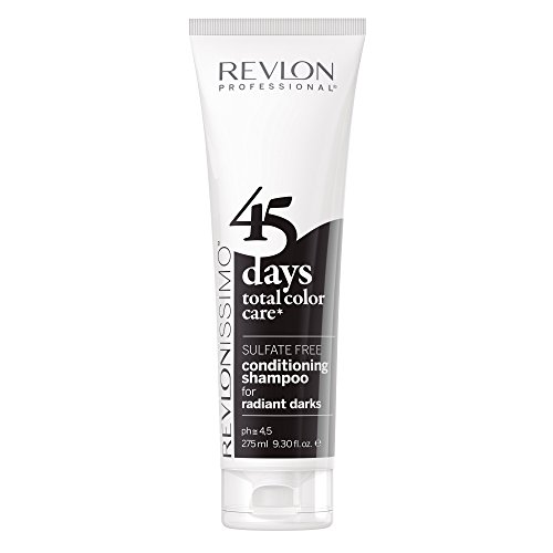 REVLON PROFESSIONAL 45 Days Radiant Darks Conditioning Shampoo,1er Pack (1 x 275 ml)