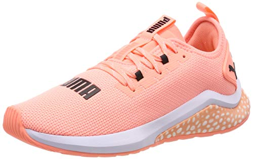 Puma Damen Hybrid NX WNS Laufschuhe, Orange (Bright Peach White), 42 EU