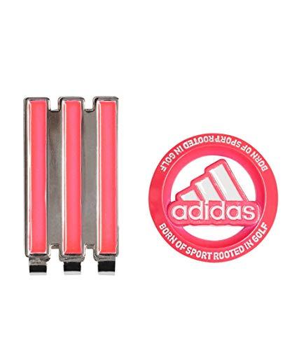 [アディダスゴルフ] AD19SS XA243 ネオンカラークリップマーカー CL0400 ピンク