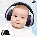 Baby Ear Protection - Noise Cancelling Muffs for Babies Infant Tots Toddler Child – Kids Hearing Protection Earmuffs - Sound Proof Noise Canceling Headphones - Ages Newborn to 3 Years - Lavender