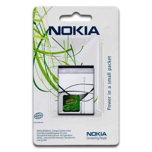 KGC IMPORT BATTERIA ORIGINALE NOKIA BL-5B per cellulare Nokia 3220 - 3230 - 5070 - 5140 - 5140i - 5200 XM - 5300 XM - 5320 XM - 5500 Sport - 6020 - 6021 - 6060 - 6070 - 6080 - 6101 - 6120c - 6121c - 6124c - 7260 - 7360 - N80 - N90
