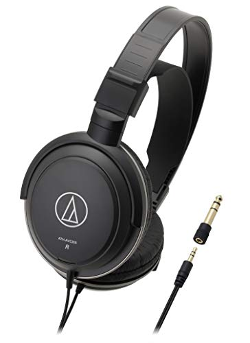 Audio-Technica ATH-AVC200 SonicPro Over-Ear Closed-Back Dynamic Headphones Black