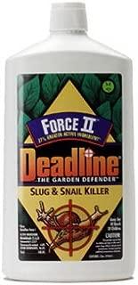 Deadline 000376 Force II Slug and Snail Killer, 1-Quart