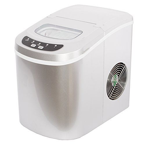 Smad Portable Electric Ice Maker Machine Ice Makers Countertop-Touch Buttons Digital Bullet...