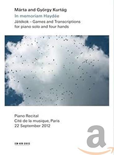 Kurtág, György - Játékok: Games and Transcriptions for Piano Solo And Four Hands
