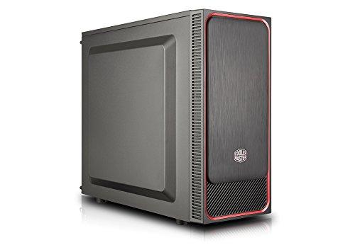 Cooler Master MasterBox E500L Rot PC-Gehäuse, Midi-Tower, ATX