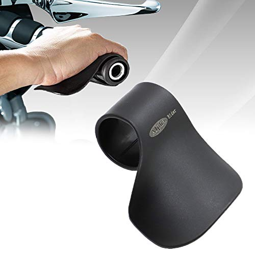 "Alpha Rider Cruise Throttle Assist For 7/8"" Handlebar Universal Motorcycle Throttle Mounted Assist Oil Control For Street Bike Sport Off Road Scooter Naked ATV 22MM Handlebar"