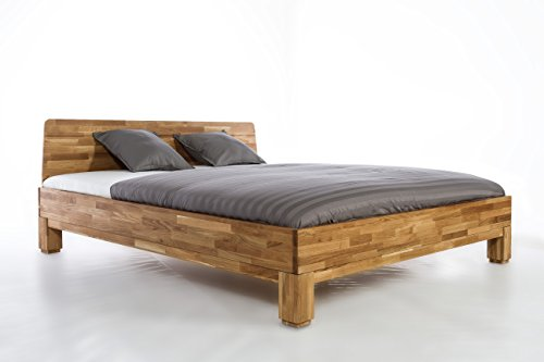 Roma Bed Oak all Size 140/160/180/200 X 200 Modell Roma