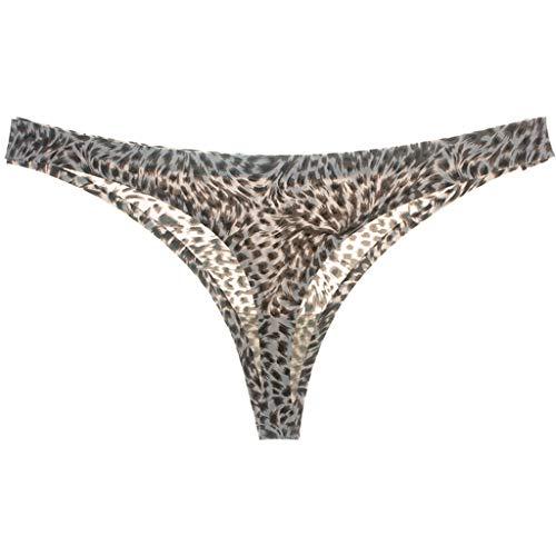 Xmiral Donna Perizomi con Pizzo Sexy String Slip Perizoma Mutande Tanga in Sexy per Donne M Beige