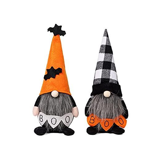 weixinbuy Halloween Decos, Sin cara, Muñeca, Muñeca, Muñeca, Muñeca, Pastel de murciélago, Atmósfera, Conjunto de dos piezas
