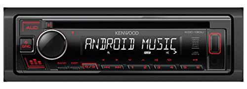 Kenwood KDC-130UR Autoradio, Nero