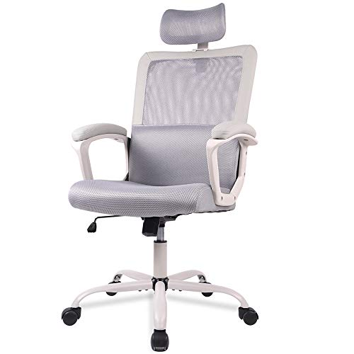 Office Chair, Mesh Office Chair, Ergonomic Office Desk Chair Computer Task Chair with Adjustable...