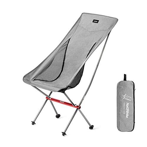 BAR STOOL Chaise de pêche de Chaise Pliante de Jardin de Chaise de Camping Ultra légère, Chaise d'extérieur compacte et portative avec Sac de Transport pour Les activités de Plein air