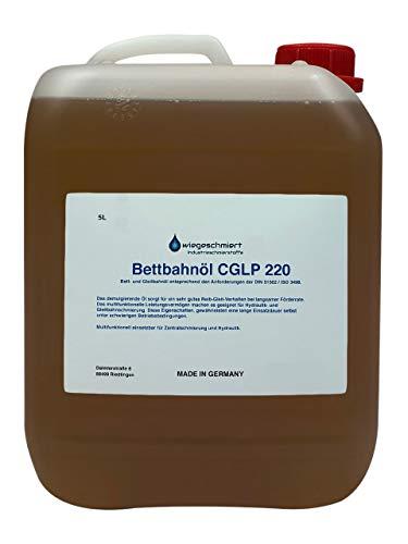 Bettbahnöl Gleitbahnöl CGLP 220 nach DIN 51502 / ISO 3498 (5 Liter)