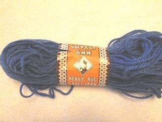 Royal Blue Lovely Ann Heavy Rug and Craft Yarn