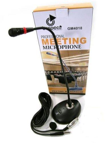 Bespeco GM4018 Tischmikrofon/ Konferenzmikrofon, mit flexiblem Schwanenhals