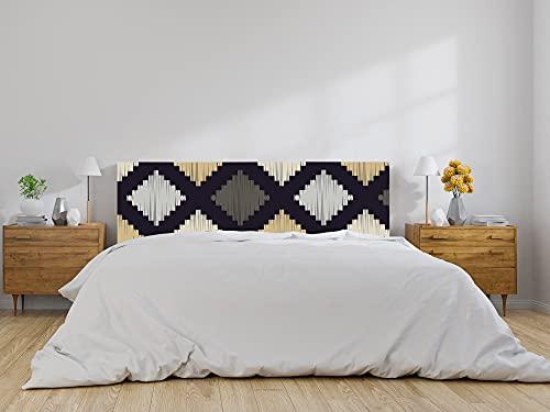 Oedim Cabecero Cama Formas Geométricas, cabecero Decorativo para Camas, decoración para Habitaciones