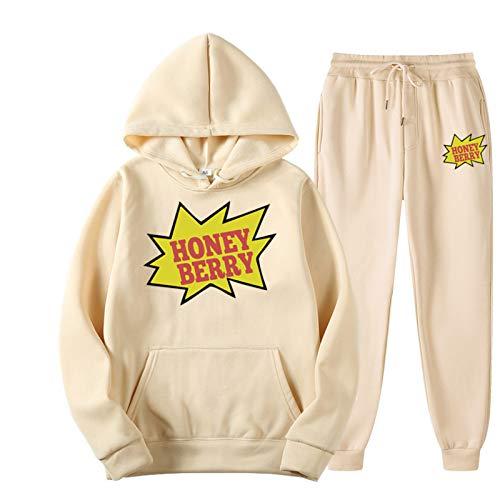 N\P Backwoods Hoodies Briefnähte Mode lässig Straße Herren- und Damenpullover Sport Hoodie Anzug L