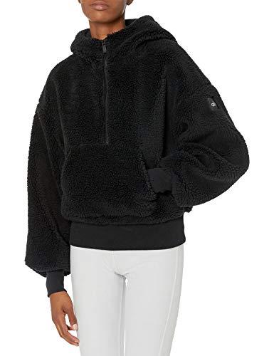 Alo Yoga Womens Streetside Half Zip Hoodie Jacket