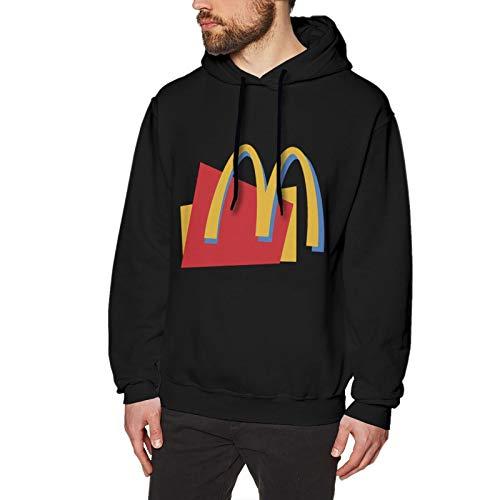 N / A Mcdonalds Herren Kapuzenpullover Langarm Baumwolle Bequem Und Weich Pullover T Shirt S