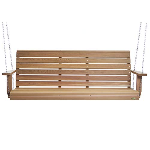 All Things Cedar PS70U Porch Swing, 6'