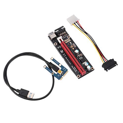 Jaimenalin PCIe zu PCI Express 16X Riser für Laptop Externe Bild Karte EXP GDC BTC Antminer Miner MPCIe zu PCI-E Slot Mining Card