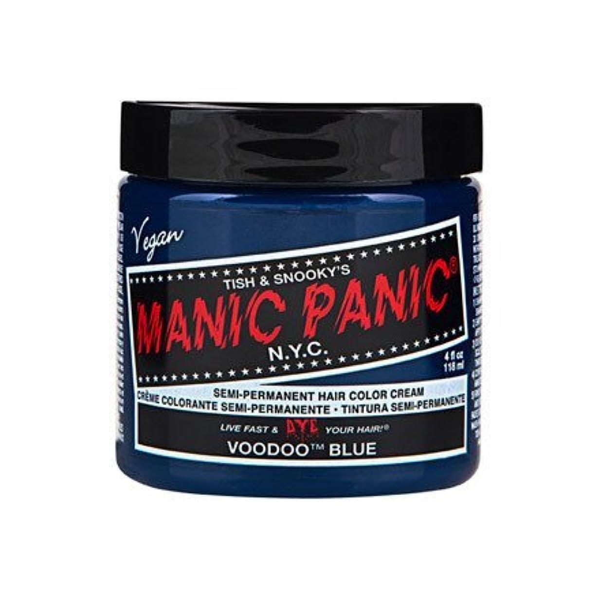 侵入する調停者劇作家MANIC PANIC マニックパニック Voodoo Blue ブードゥーブルー 118ml
