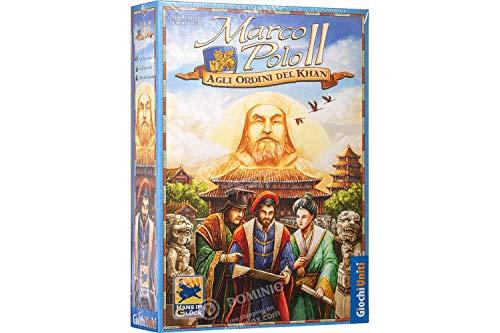 Giochi Uniti Marco Polo II Gioco Tavolo, Agli Ordini del Khan, Multicolore