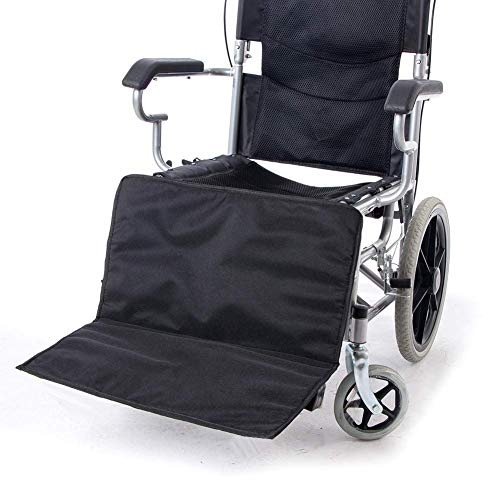 QEES Wheelchair Leg Rest Pad, Heavy Duty Thicken Wheelchair Footrest Extender, Comfortable Wheelchair Low Profile Leg Support New
