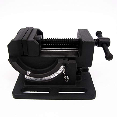 HFS (R) Cradle Style Angle Drill Press Vise (4