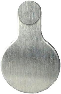 SecureAview Premium All Metal Door Viewer Cover - ADA Compliant (Satin Stainless Steel) (Satin Stainless Steel)