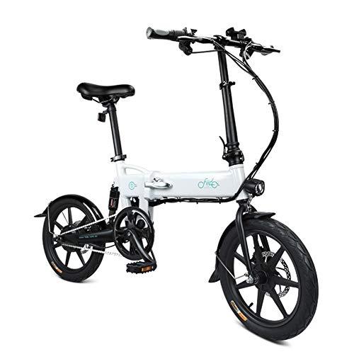 Liamostee - Bicicleta eléctrica Plegable, 1 Unidad, Altura Regulable, portátil para Ciclismo: Amazon.es: Hogar