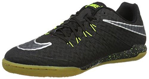 Nike Mens Soccer Hypervenomx Finale II Indoor Court Shoes Black/Volt/Gum 749887-007 Size 9.5