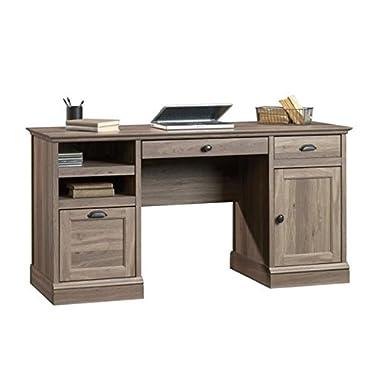Sauder 418299 Barrister Lane Executive Desk, Salt Oak