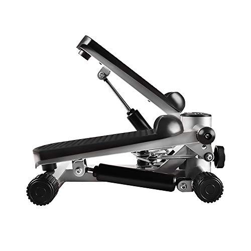 2in1 Mini Stepper, Side Stepper und Auf und Ab Stepper in Einem Gerät, Fitnessgeräte für Männer und Frauen, Nutzergewicht 100KG - 42X32X30CM