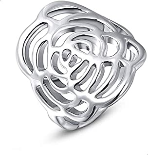 Roxi RT0004 Rose Flower Ring-7 EU