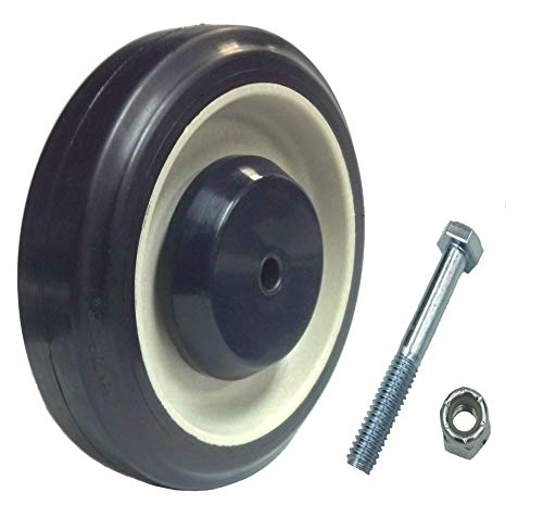 Mapp Caster Bulk Shopping Cart Replacement Wheels with Axles - 100 Wheel Kit