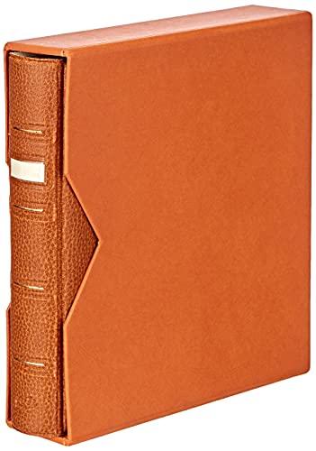 Pardo 75006 - Album numismático universal polipiel, color marrón