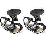 iBoBoy 2pcs Backseat Mirror Baby Mirror for Car Rear View Mirror Car Seat Mirror...