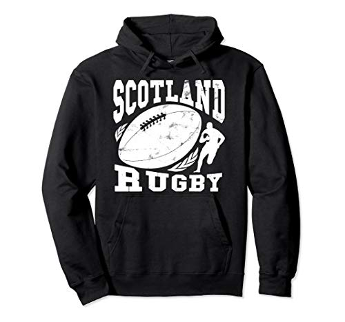 SCOTLAND Rugby Fan Pullover Hoodie