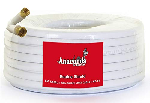 Anaconda 30 meter SAT-kabel/High Quality Coax Cable/HD-TV